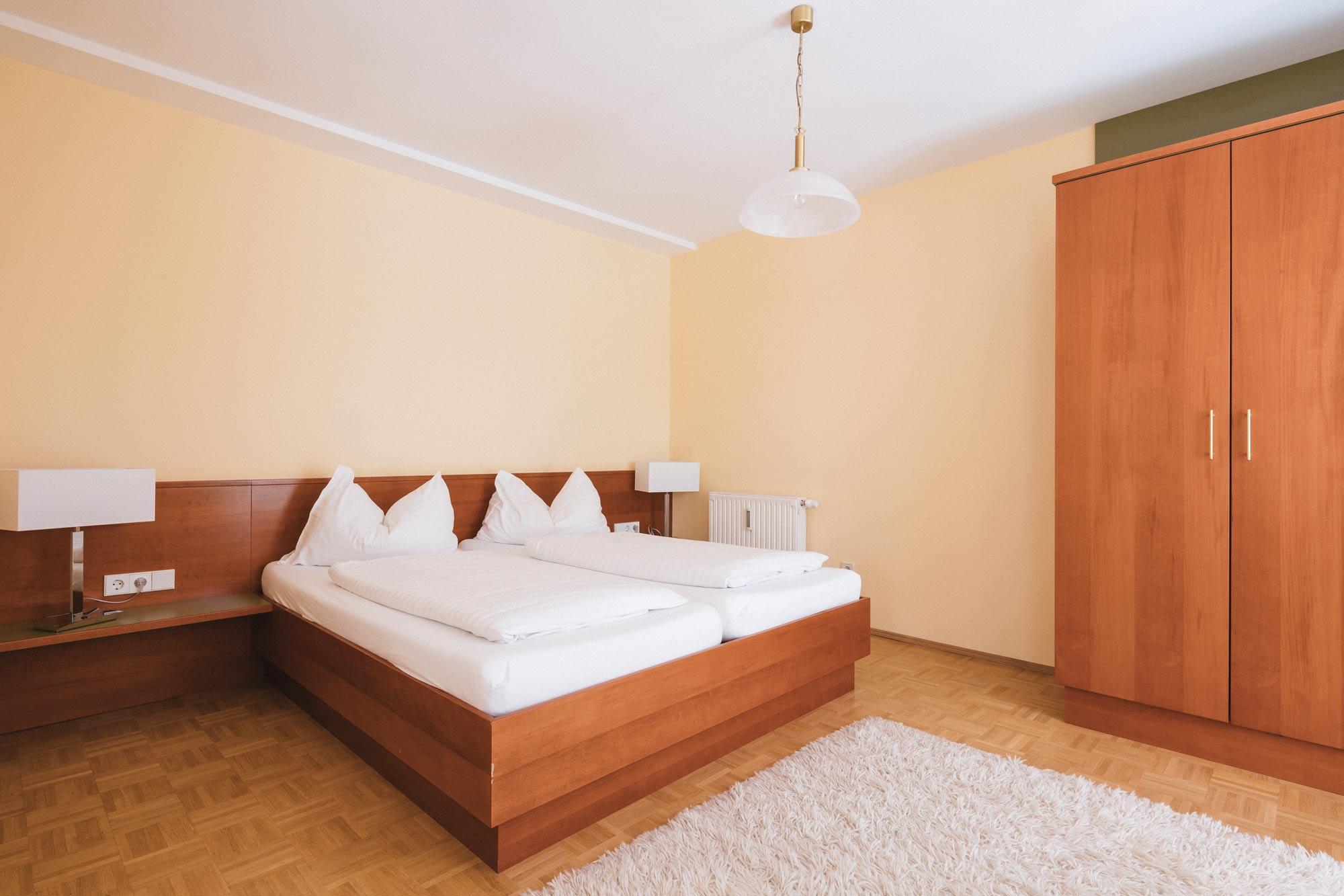 Apartment 1 Schlafbereich
