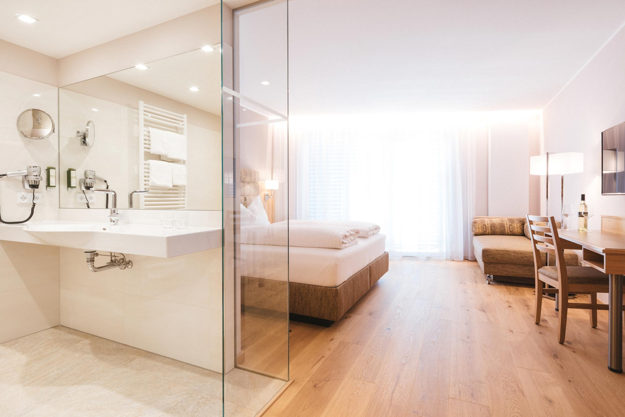 Doppelzimmer Komfort Bad